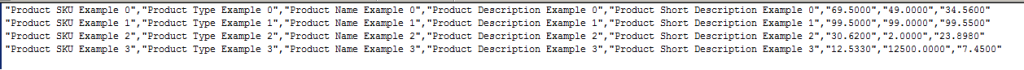 Magboxes Product Synchro CSV Example