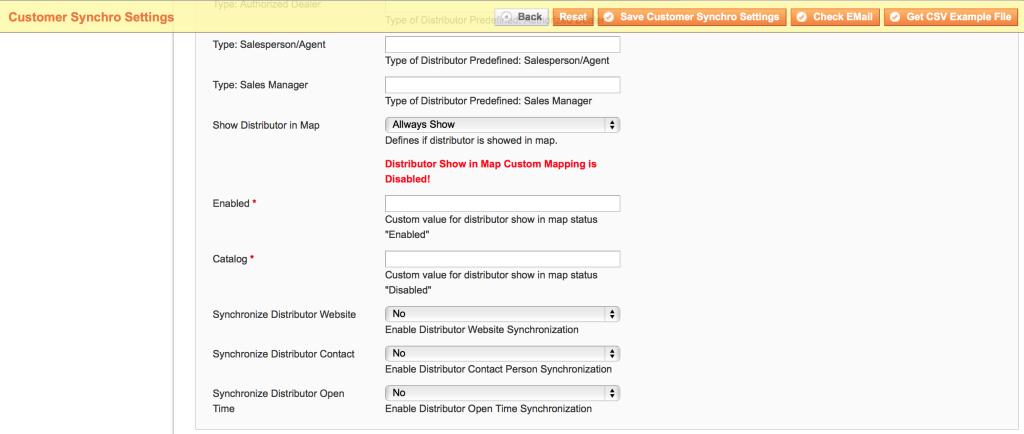 Magboxes Sincronización Cliente - Distribución y Google Maps